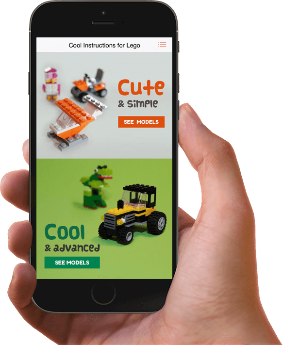 Cool Instructions For Lego Mobile App